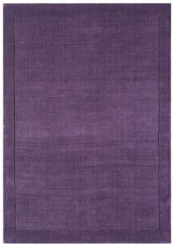 York Purple 100% Wool Rug